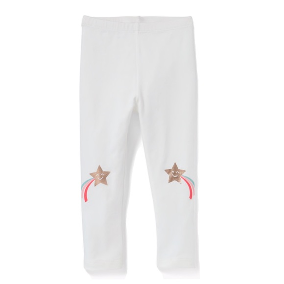 Old Navy Other - NWT White Shooting Star Printed Leggings 2T